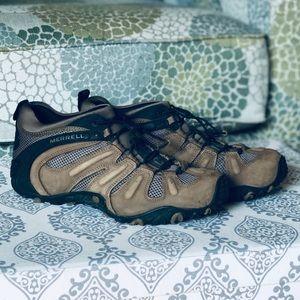 Merrell   Chameleon Kangroo Leather Hiking Shoes